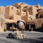 One of the most photographed facades in New Mexico