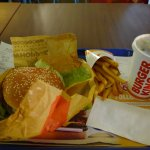 Double whopper meal