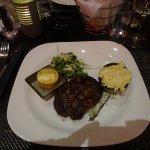 Steak meal at rbg restaurant.