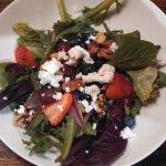 Berry & goat salad