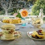 High Tea at Rainbow Falls Tea House