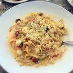 Fettuccini with Seafood