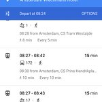 Directions to hotel from Amsterdam Centraal