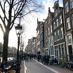 Do you know why the houses slant in Amsterdam?