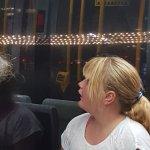 Wow christmas light tour on the tram !!