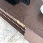 Ødelagte møbler