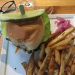 Michael & Marion's Lunch Wagyu Beef Burger with House Cut Fries, Barrie ON