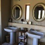 Jamala Madikwe bathroom in Villa