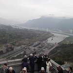 Three Gorges Dam, view from summit