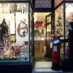 Interesting winning small business shop window in Harrogate