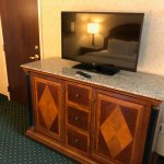 TV and nice cabinet