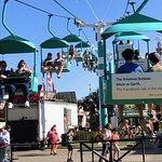 West Jet Skyride helps to get you around the huge park