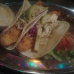 Shrimp po'boy /Fish taco /Fried alligator/ Oysters Rockefeller