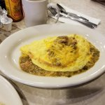 Omlette with Chili Verde