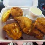 Skinless fried chicken