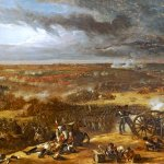 The Battle of Waterloo by Sir William Allen