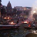 Manikarnika ghat from close quarters
