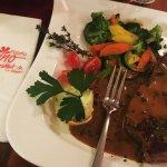 Das Entrecote, ein Steak aus dem Zwischenrippenstück.