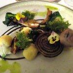 Vegetarian taster menu