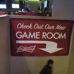 Game Room below