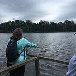 Piranha fishing on the Amazon