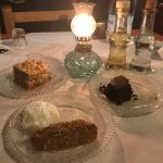 3 Desserts! The traditional Greek Christmas Cookies (Kourabiedes and Melomakarona) are my fav!
