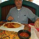 Steve Nordstrom at Los Arcos restaurant