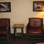 Pyramid Mountain Room Sitting Area