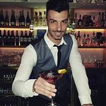 Our very Talented bar man Danny