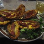 Loaded Potato Skins with Bacon
