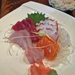 super fresh sashimi plate