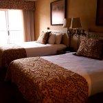 Comfy beds and nice room.