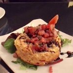 Seafood cheesecake