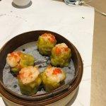 Pork & shrimp with mushroom siu mai