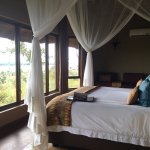 My room overlooking the Chobe river.