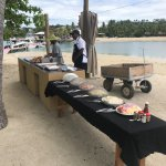 BBQ at Malolo Lailai Island / Musket Cove Yacht Club