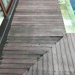 Rotting Pool deck - dangerous