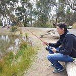 outdoor lake fishing