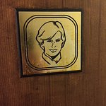 The french singer Claude Francois once visited El Bistro. They put up this plaque up in his hono