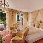 Blick in ein Zimmer der Villa Contessa