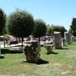 Pozostałości rzymskich budowli