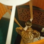 The bedside lamp did not have a bulb on Day 1, was rectified on Day 2