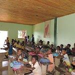 I bambini a scuola.