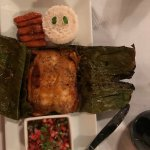 Banana leaf wrapped fish...Excellent