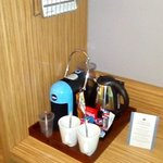 SUPER ROOM AT LONDON TL CENTRAL - COFFEE MACHINE