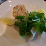Crab & avocado starter