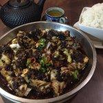Spicy Black Bean Cod Stew