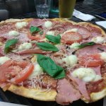 Ham tomatoes onions. This crust and delicious