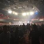 Boxing Event Main Auditorium