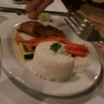 Fresh snapper and white rice